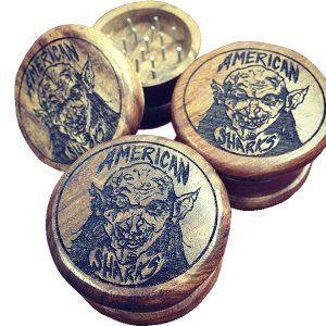 Engraved Weed Grinder