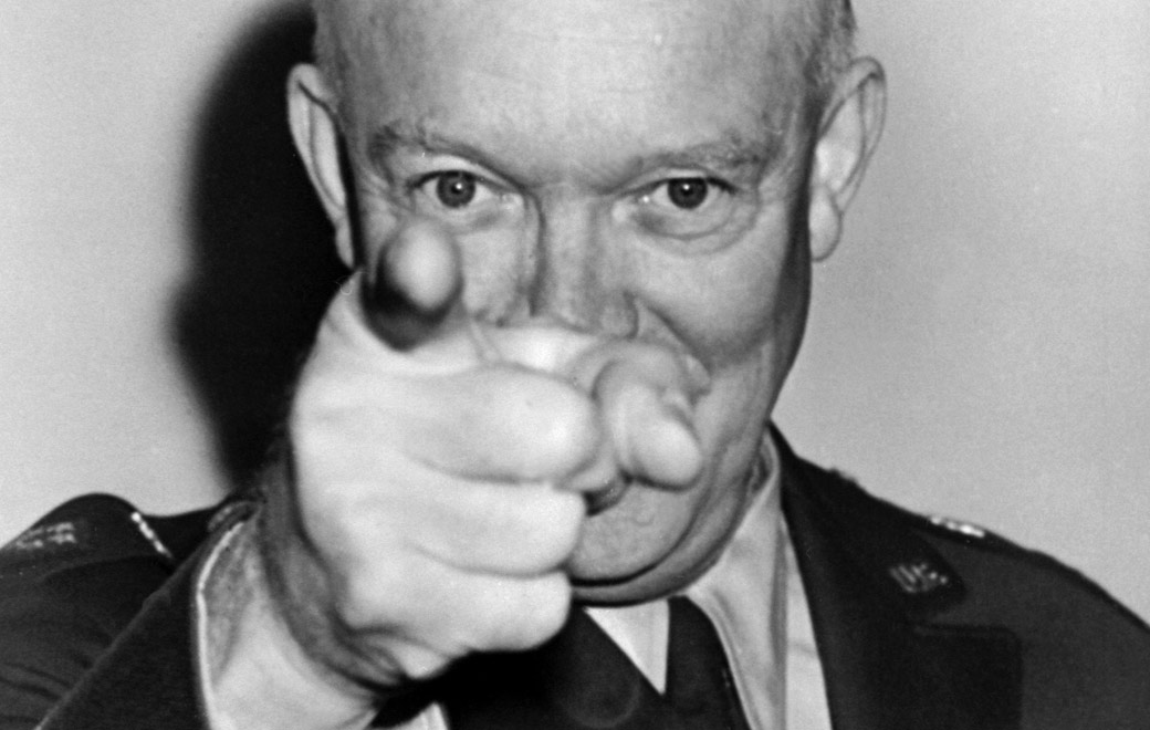 dwight eisenhower rhythm and blues