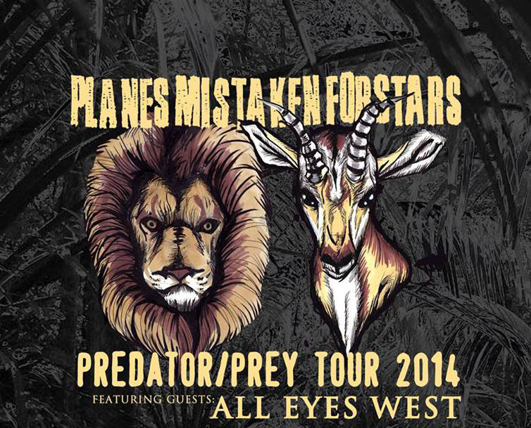 Planes Mistaken For Stars tour 2014