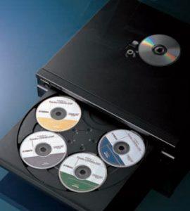 Album vs. Playlist 5 Disc CD Player
