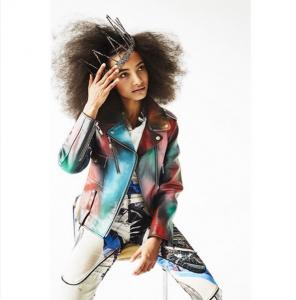 Esperanza Spalding afro