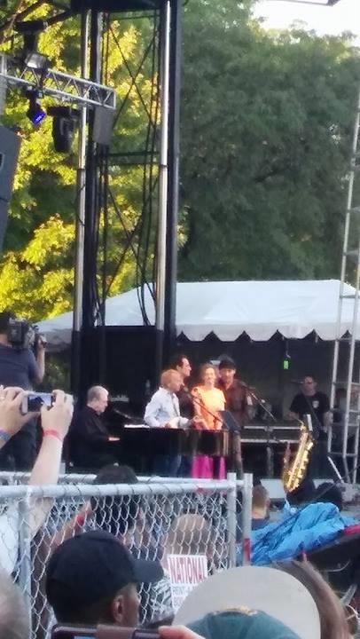Brian Wilson at the Pitchfork Music Festival