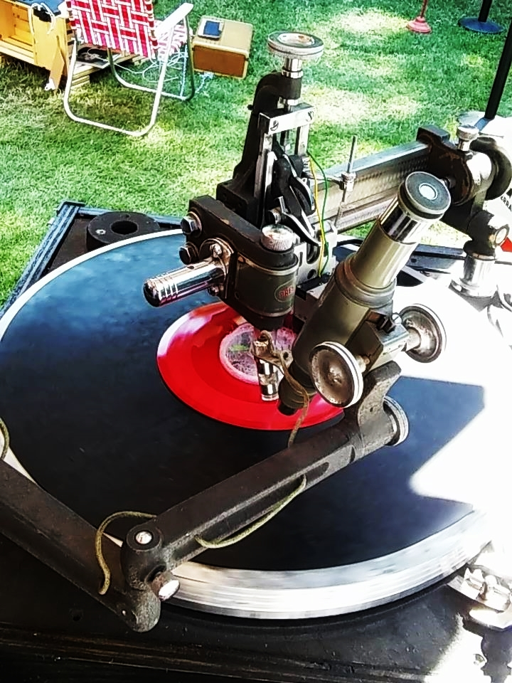 Cutting records at the Pitchfork Music Festival