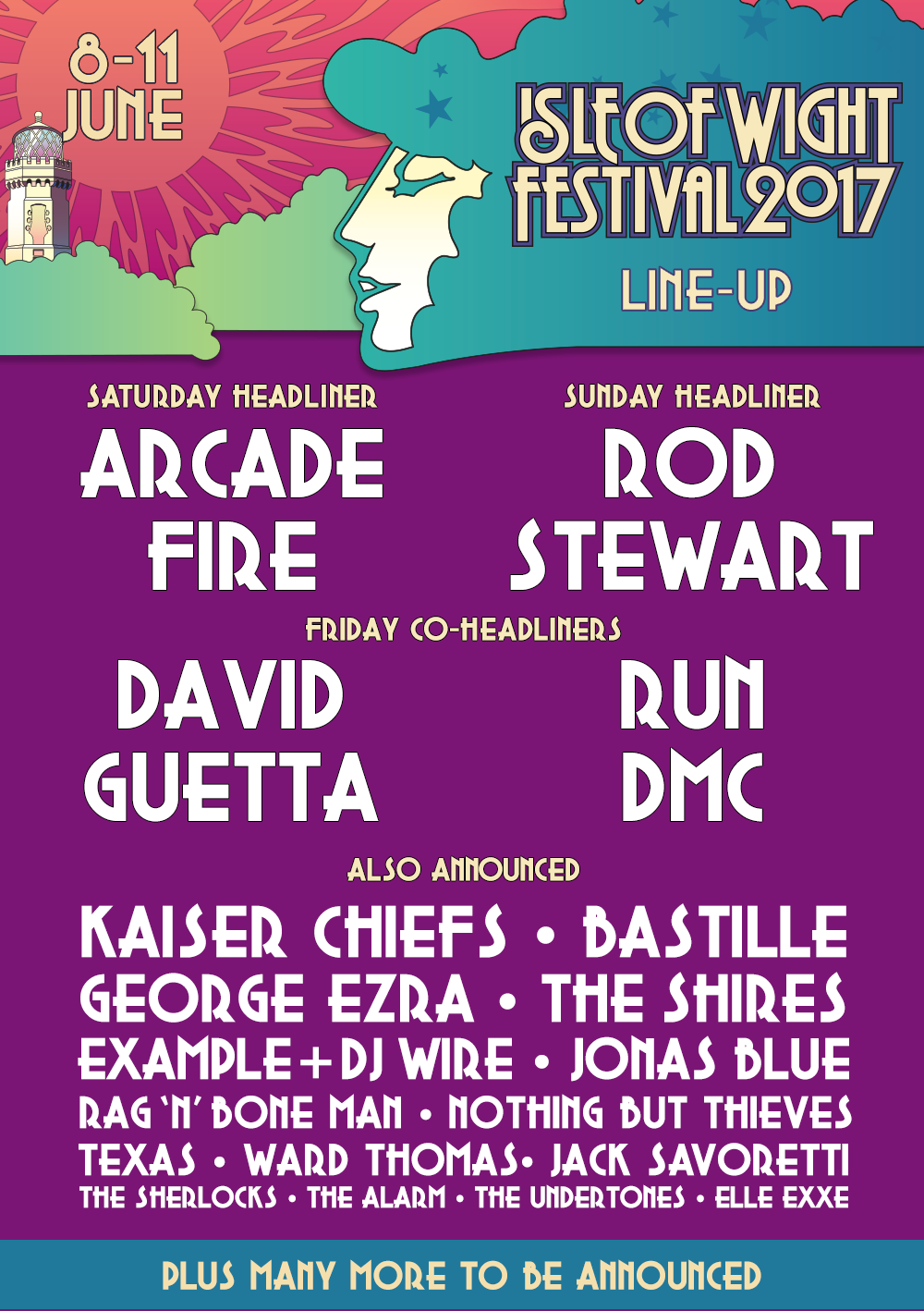 Isle Of Wight Festival Lineup 2017