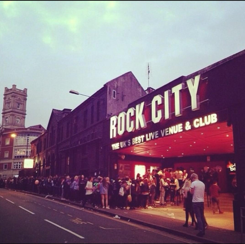 Nottingham Rock City live music venue