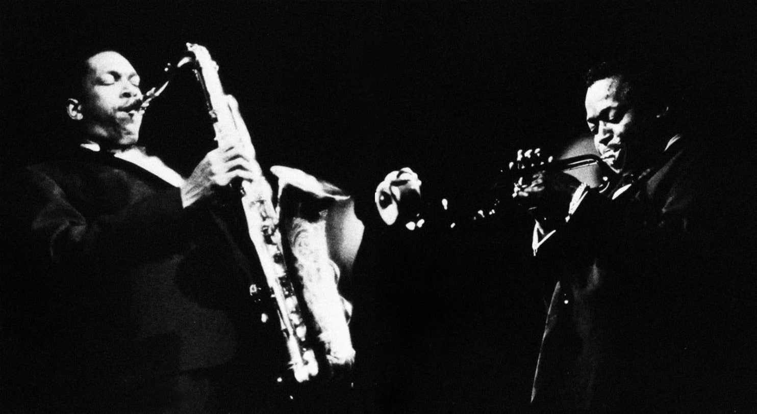Image result for miles davis and john coltrane